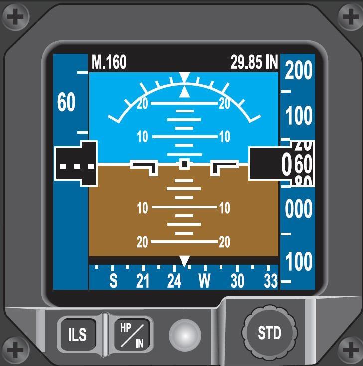 辅助飞行显示系统